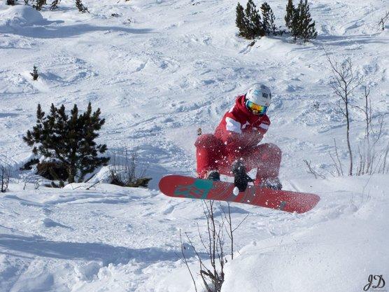 Snowboardunterricht für Fortgeschrittene in Kaltenbach