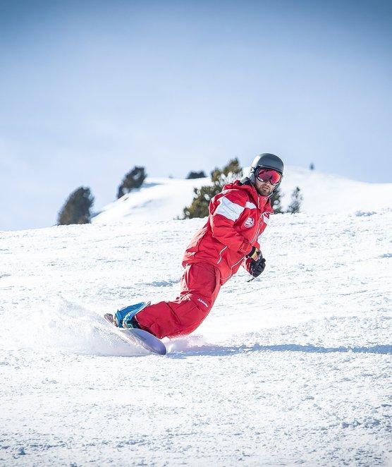 Snowboardunterricht im Skigebiet Kaltenbach - Hochzillertal