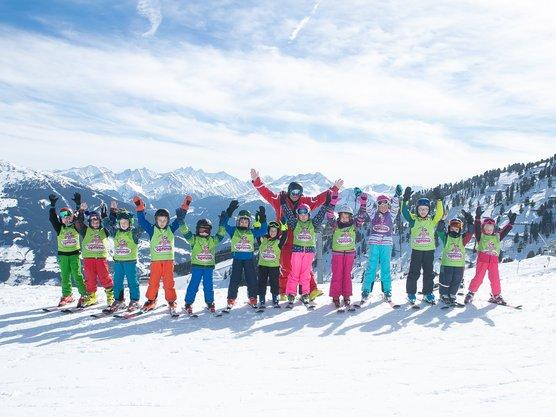Gruppenunterricht Kinderskischule
